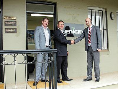 Tim MacMahon meets up with Enigin Partners Trent and George